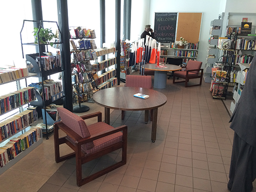 library bookstore