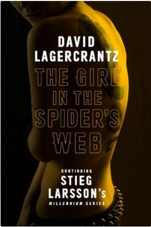 """U.K. edition cover of """"the Girl in the Spider's Web"""""""