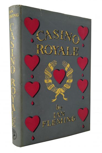 Casino Royale first edition