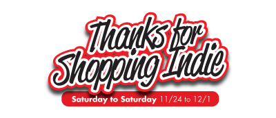 Thanks for Shopping Indie logo