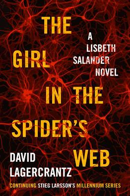 "U.S. edition cover of ""the Girl in the Spider's Web"""