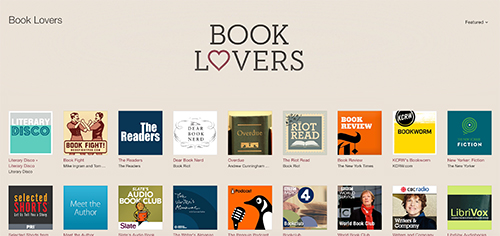 book podcasts