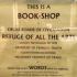bookshop sign funny