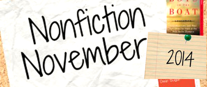 Nonfiction November – Week One