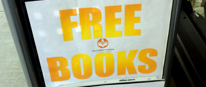 Find Free Books in Birmingham