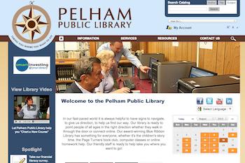 pelham library site