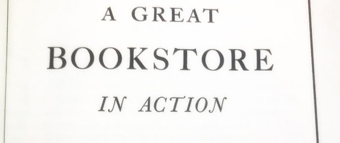 Book Review: A Great Bookstore in Action