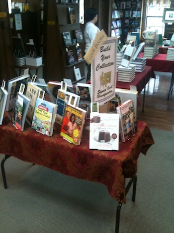 Table of Books at Alabama Booksmith