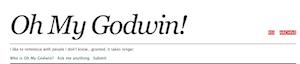 Oh My Godwin book blog