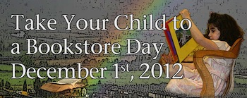 Take Your Child To A Bookstore Banner