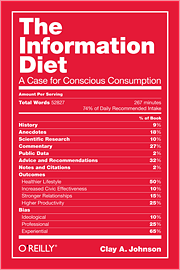 The Information Diet Book Cover