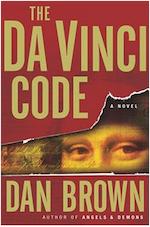 da vinci code book cover