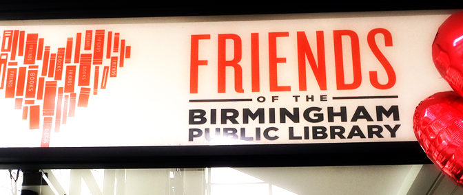 Birmingham Library Bookstore