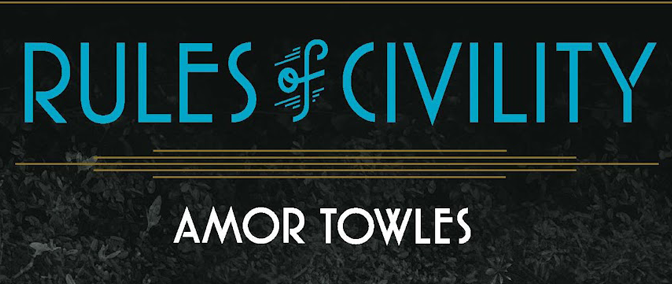 Amor Towles Talks Writing