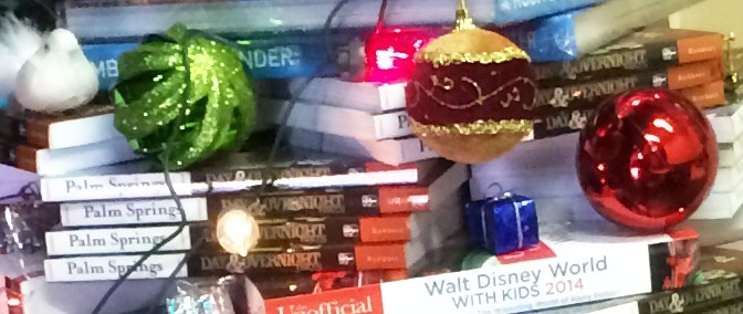 Happy Holidays & a Book Christmas tree