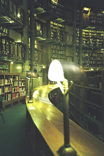 Paris Library Photo