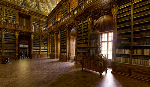 strahov library largest photo