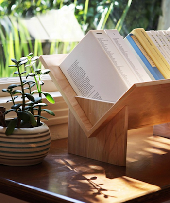 table top bookshelf
